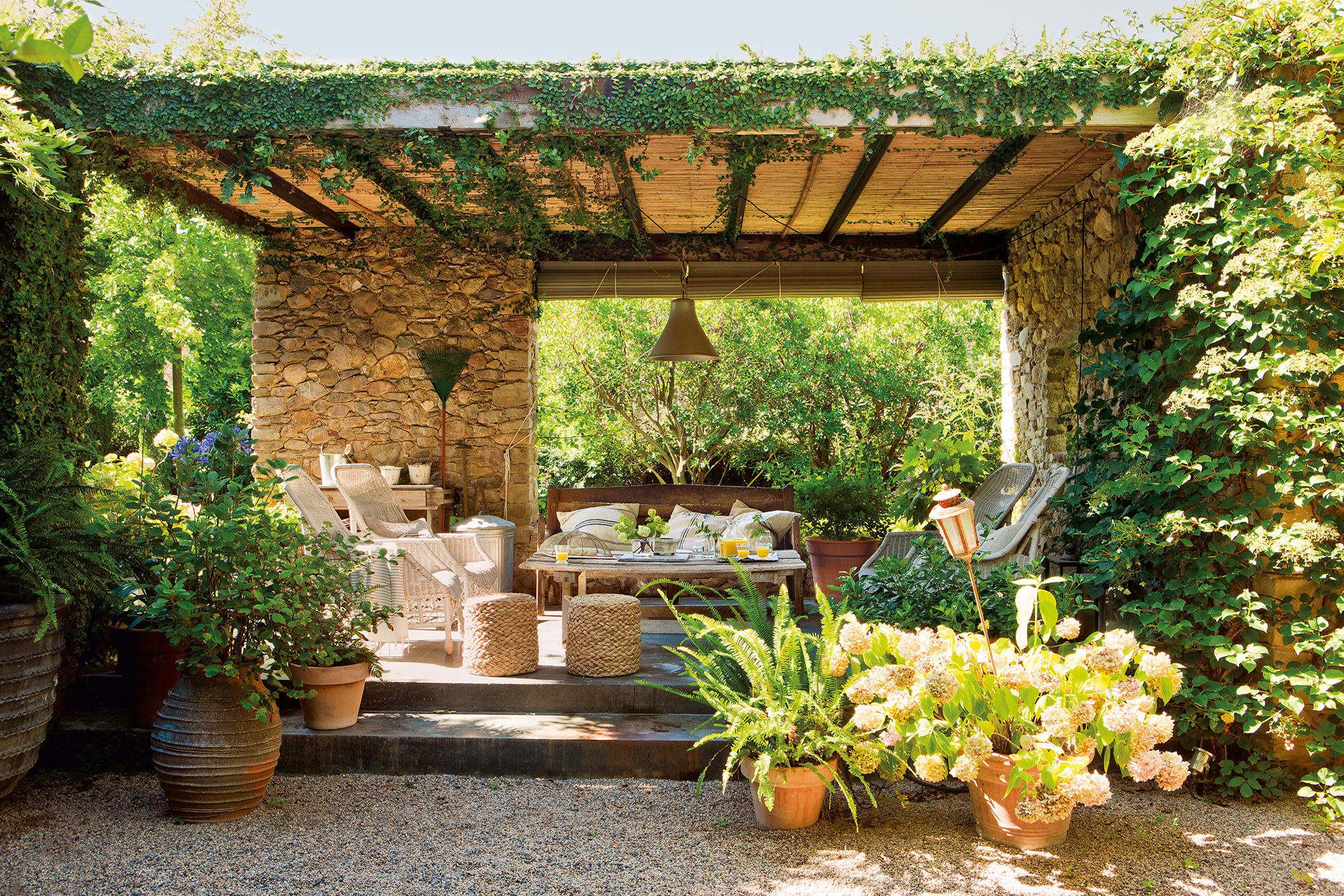 7 ideas perfectas para techar un patio 13