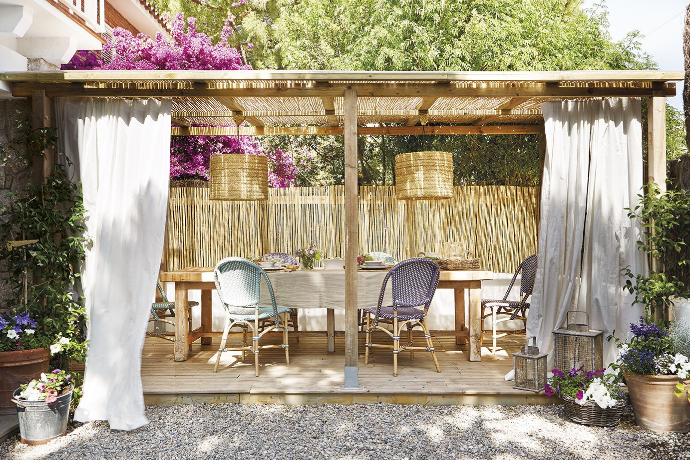 7 ideas perfectas para techar un patio 14